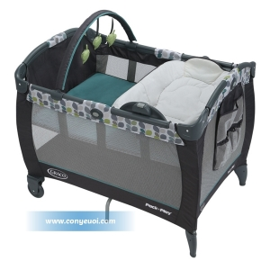 Giường nôi Graco PNP Reversible Napper & Change Soho Square 1812041